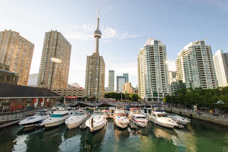Торонто. Набережная. Waterfront trail.
