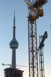 Торонто. Вездесущая CN Tower.