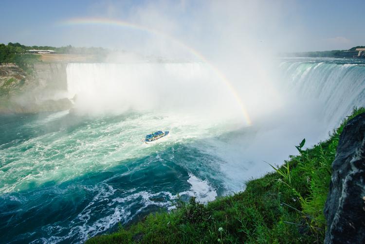 Niagara Falls. Канадская часть водопада.