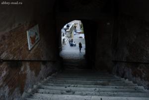 Переулки, арки, лестницы...