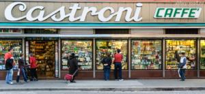Римские магазины итальянских продуктов.