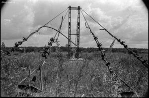 Подвесной мост в д.Борисовское